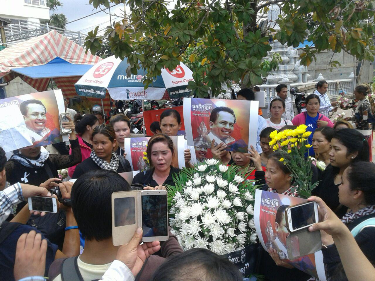 Activist Funeral 17.07.16